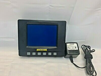 Dickson FH325 Temperature / Humidity LCD Graphing Logger Recorder