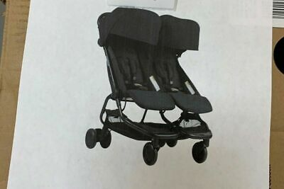 Mountain Buggy Nano DUO Double Stroller In Black Brand New in Damaged Box