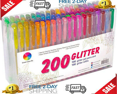 12//24//48//100 Multi color Ballpoint Gel Pen Refill Colorful Highlight Gel Pen