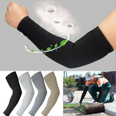 1/4 Pack Cool Arm Sleeve Elbow Arm Protection Cover Golf Cycling Hiking Sleeves
