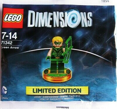 Lego Dimensions Limited Edition Green Arrow Polybag NEW SEALED #71342 7 pieces