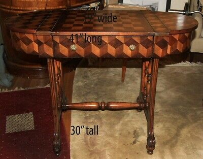 Unique gaming Table for chess and backgammon