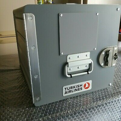 Standard Container Unit Flugzeugtrolley Catering Box Turkish Airlines