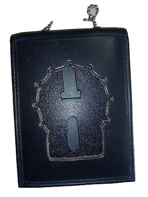Nypd Strong Leather Badge Case