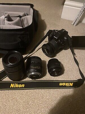 Boxed Nikon D5300 24.2 MP Digital SLR Camera Package With Lenses