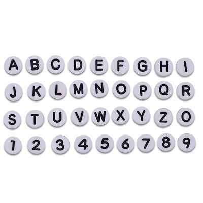 Classic English Letters and Arab Numbers Shoe Adapts fit Summer Shoes 6 Colors