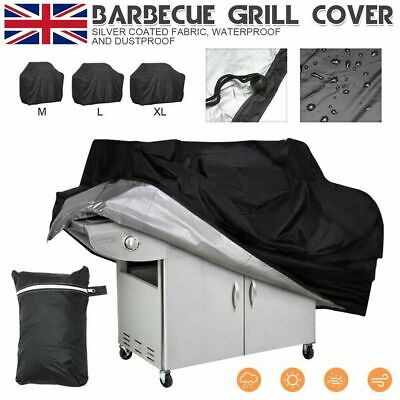Extra Large BBQ Cover Waterproof Garden Barbecue Grill 190CM L / XL Heavy Duty