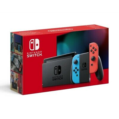 Nintendo Switch Neon Red and Neon Blue Joy-Con Console 32GB 2019 new