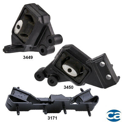Rear Right /& Trans Front Right Mount set of 3Pcs for Ford Taurus 99-96