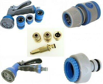 Rolson High Quality Garden Hose Pipe Spray Gun Connectors & Fittings Push Fit