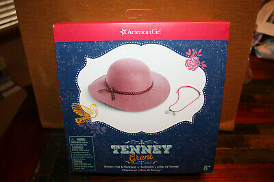 American Girl Tenney Hat & Necklace NIB Tenney's