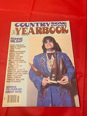 Country Song Roundup Yearbook Spring 1978 Ronnie Milsap