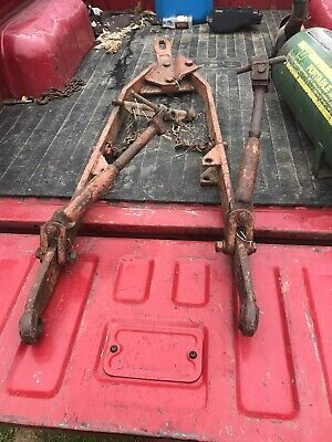 ALLIS CHALMERS RH 3 Point Hitch Leveling Box 72093752 72090659 5050 5045