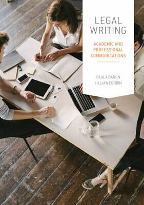 NEW Legal Writing By Paula Baron Paperback Free Shipping