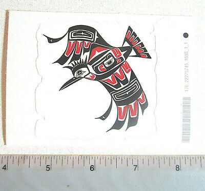 First Nations /'/'Eagles/'/' Sticker Decal Native Westcoast Indigenous Art