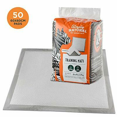 Simply Natural Training Pads 50 Pack 50 60x60cm Super Absorbent Puppy Training