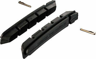 Shimano Spares M70R2 Cartridge Brake Shoe Inserts With Fixing Pin - Pack Of 2