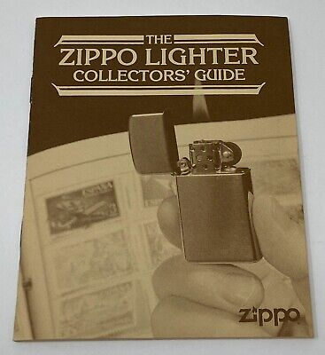Vintage The Zippo Lighter Collectors Guide Booklet Identification Codes 1990