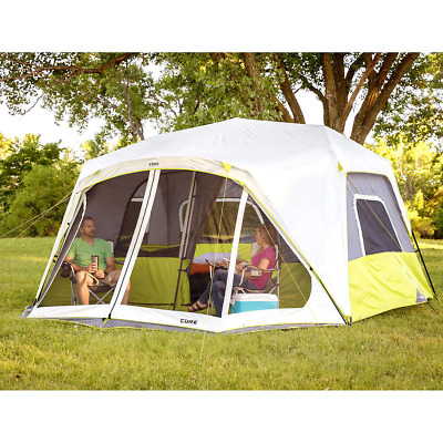 11 Person Cabin Tent with Screen Room