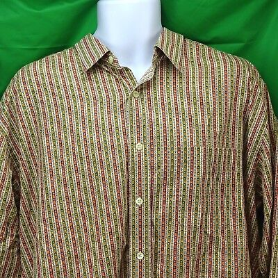 Austin Reed London Men S Ls Striped Shirt Xl See Photo For Measurements 11 55 Picclick Uk