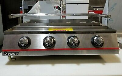 Electric Counter Top Grill - 4 Burner