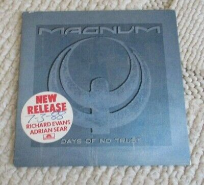 Magnum cd Days of no Trust, 1988, POCD 910, 4 Tracks