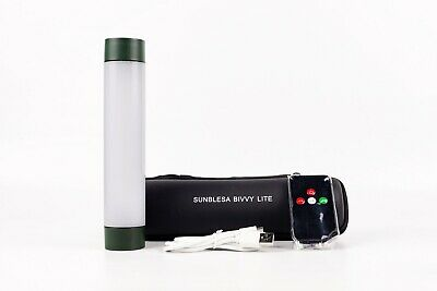 Sunblesa Bivvy Light Multifunction White Green Red inc Power Bank Remote Control