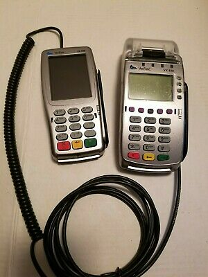 VeriFone VX 520 and VX 820 Keypad LOCKED TO RESTAURANT - FOR REPAIR