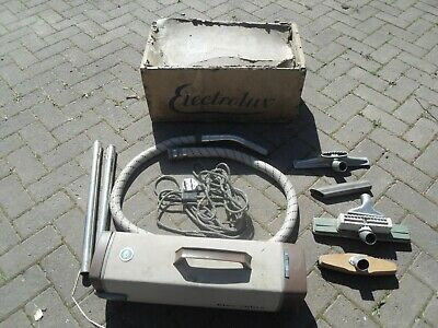 Vintage Electrolux 764 c Vacuum Cleaner + Attachments Props / Display