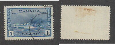 Used Canada $1 Destroyer Stamp #245 (Lot #16899)