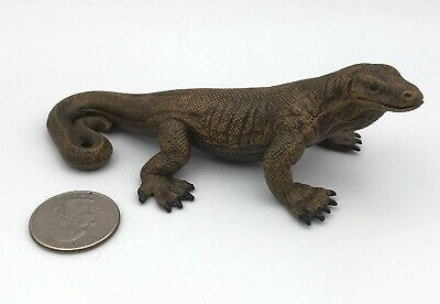 Schleich KOMODO DRAGON Lizard 14166 Retired 1999 Figure Animal Rare!