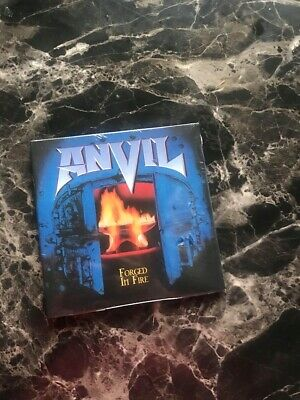 anvil forged in fire digipac cd factory sealed heavy metal