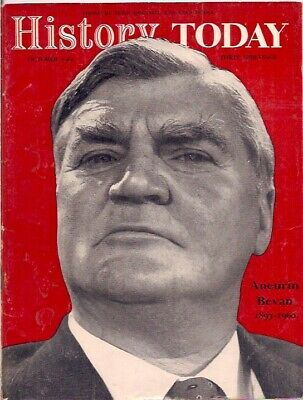 history today-OCT 1960-ANEURIN BEVAN 1897-1960.