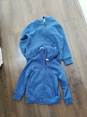 2 boys girls H&M blue Zip Through Hoodie Age 2-4 Years new, no tags