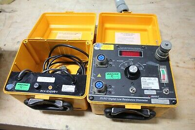Biddle   DLRO Digital Low Resistance Ohmmeter Megger