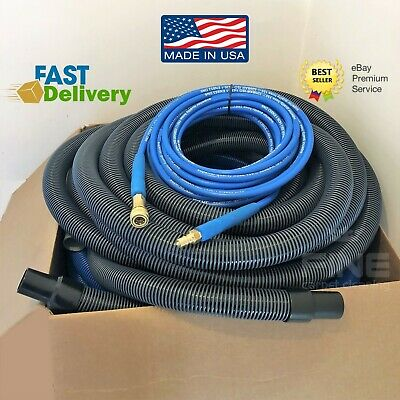 25ft 7.5m GENUINE CARPET CLEANING VACUUM AND SOLUTION HOSE PROCHEM
