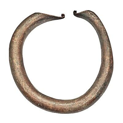 Ancient Norse Viking Torc Bracelet - Ca 800-1100 AD - Brass Artifact Antiquity D
