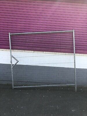 Heras Temporary Fencing Gate's 2.1M Wide - Site security - Used