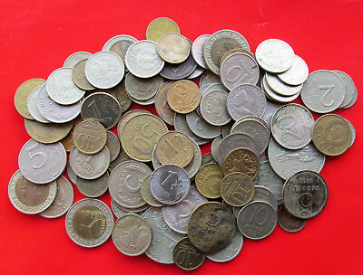 Set of 100 Russian Coins