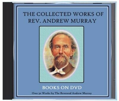Andrew Murray 51 Books on DVD Collection Lot - Humility, Surrender, Christ, Etc+