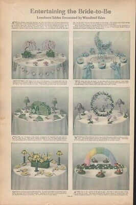 1912 Entertaining The Bride Winnifred Fales Home Decoration Flower  18849