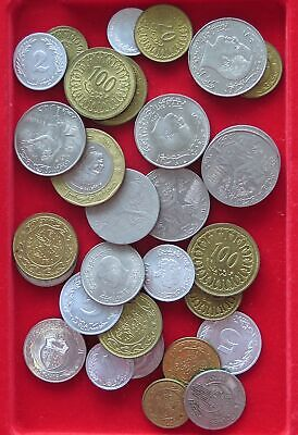 COLLECTION LOT TUNISIA 30PC 188GR #xx17 117