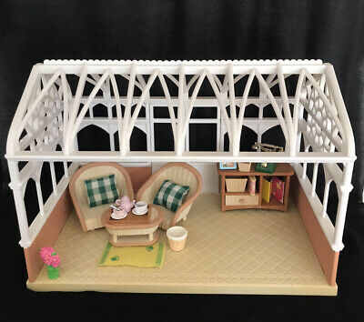 Sylvanian families conservatory With Furniture And Accessories EC