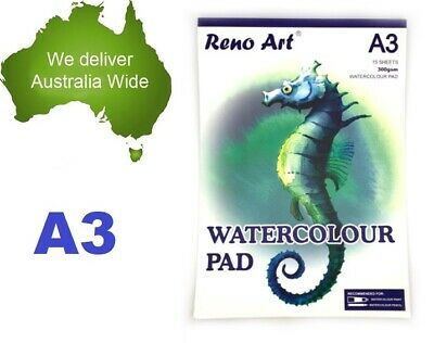 A3 Watercolour Pad 300gsm Atrist Painting Art Paper Sketchbook Sketch Drawing