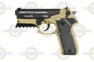 Gamo PT 80 DESERT ATTACK SPECIAL EDITION Cal. 4,5 Mm - CO2 - de Balines