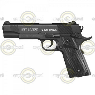 Gamo RED ALERT RD-1911 BLOWBACK Cal. 4,4 mm - CO2 - de Bolas Acero BB's