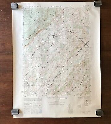 Topographical Map of Branchville N.J.1949 USC GS Army Corps Engineers 22x29