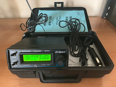 AirSport IFR Altitude Alerter / transponder monitor with case guaranteed 30 days