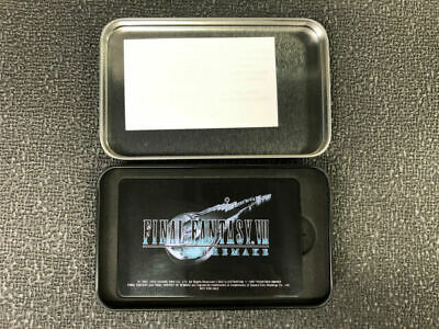 Final Fantasy VII Remake Shinra Electric Power Company ID Card With Tin FF7R