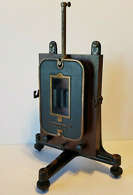 Antique Leeds & Northrup Co Portable Galvanometer With Stand
